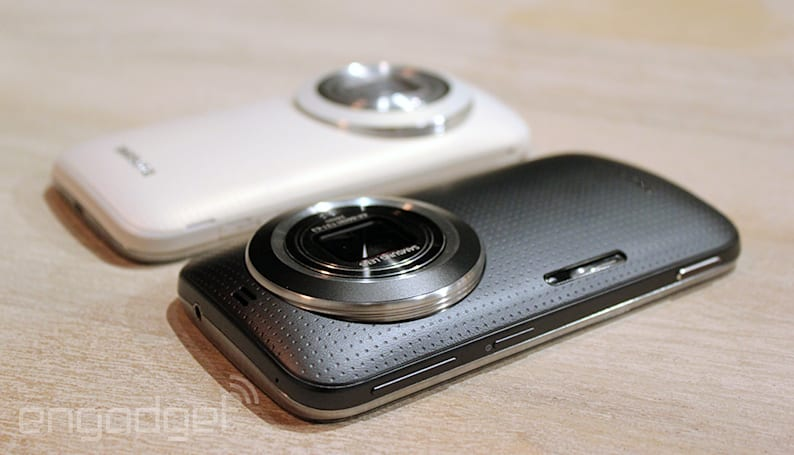 Samsung blurs the line between phone and camera (again) with the Galaxy K zoom