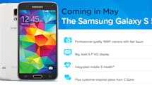 C Spire will carry the Samsung Galaxy S5 in May