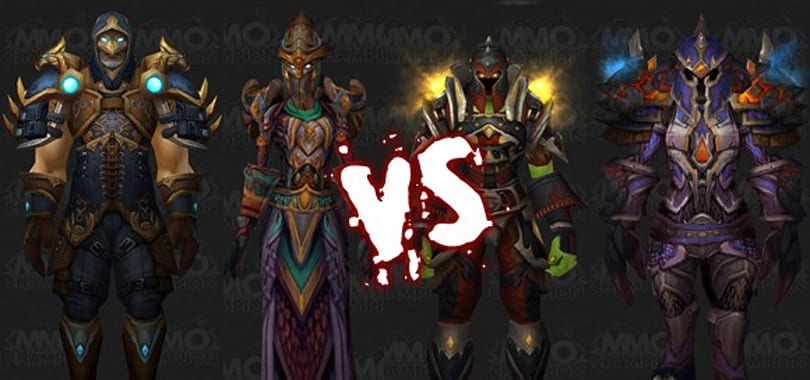 Mighty Battle: Rogue and Shaman Tier 9 sets