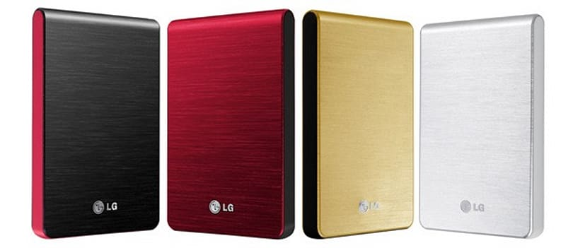 LG launches XD3 Slim portable HDDs