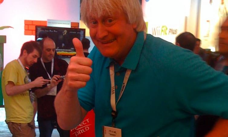 Seen@E3: Martinet works hard for the Mario voice money