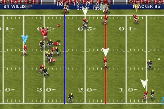 Tecmo Bowl Throwback dives over the pile onto iOS