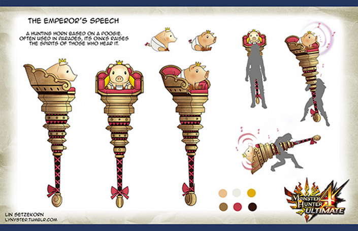 Monster Hunter 4 Ultimate gets the cutest weapon
