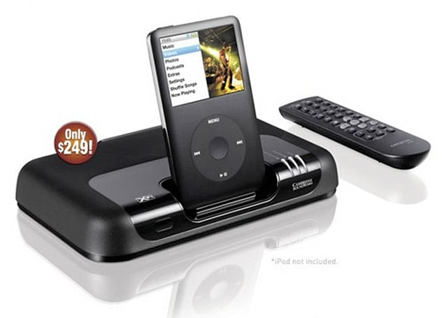 Creative quietly intros MovieWorks HD iPod dock