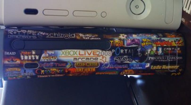 XBLA collage faceplate is a work of XBLA art