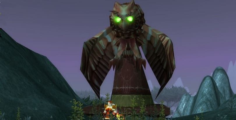 Where in Warcraft? The inaugural bird edition