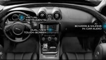 Video: Jaguar's 2010 XJ cockpit is a dual-view, 7.1 surround sound lovers' paradise
