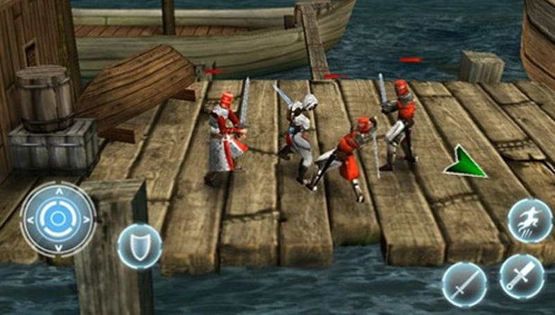 Altair's Chronicles leaps through the air, stabs iPad App Store