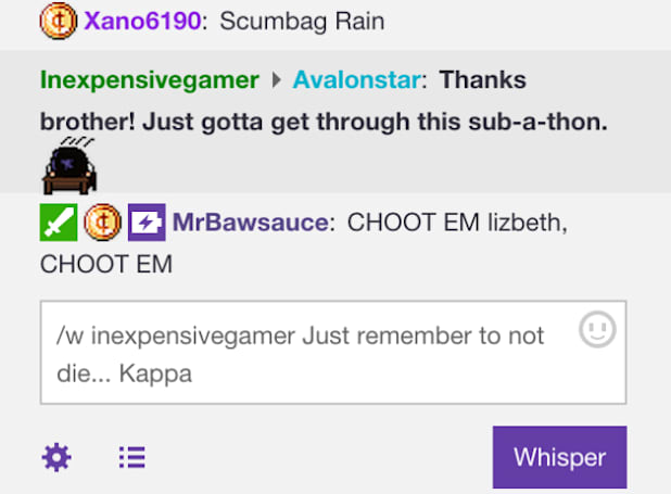 Twitch rolls out a private-message system called Whisper