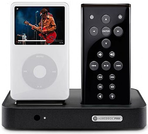 DLO kicks out video-playing HomeDock Pro for your iPod