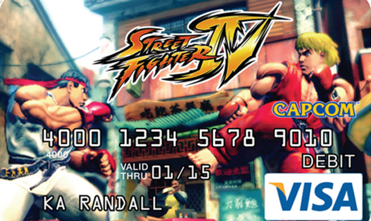 Capcom Visa cards full of hidden charges (just like Guile)