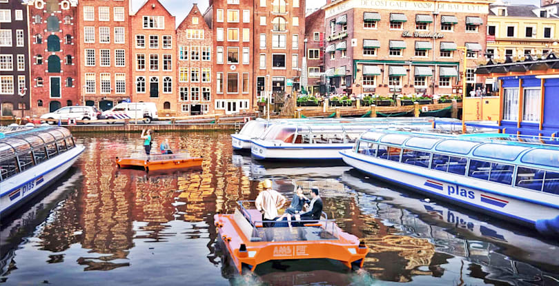 Amsterdam's autonomous canal boats, and more in the week that was
