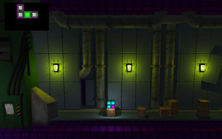 Tetropolis: the platformer starring Tetris pieces