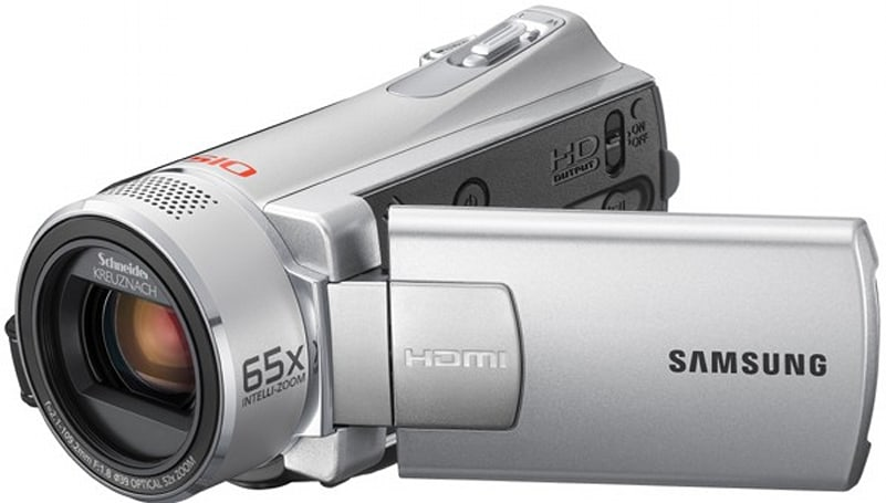 Samsung goes bargain hunting with SMX-K40 and SMX-K45 camcorders