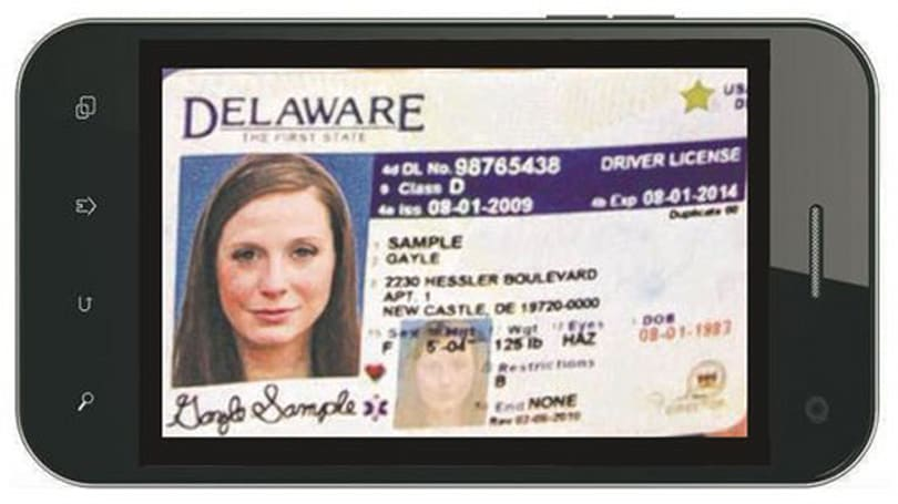 Delaware wants to put your driver's license on your phone