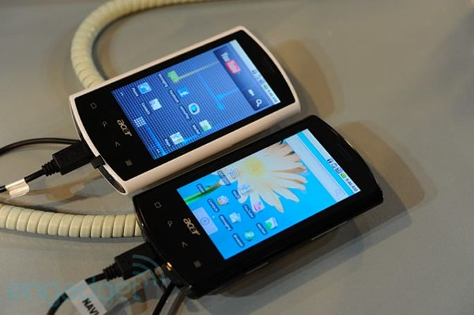 Acer Liquid e, beTouch E110 / E400, and neoTouch P300 / P400 hands-on