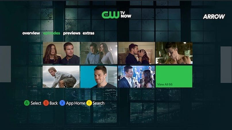 The CW app brings full episodes streaming to Xbox 360 a day after they air