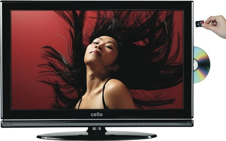 Cello Electronics intros HDTV that records to SD cards