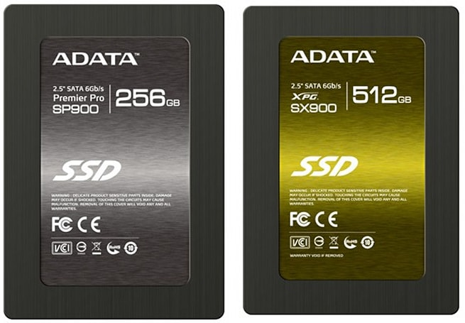 ADATA reveals three new SandForce SSDs for the high, mid and low end (updated)