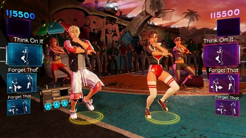 Several Dance Central 2 tracks boogie loose, assets shake out