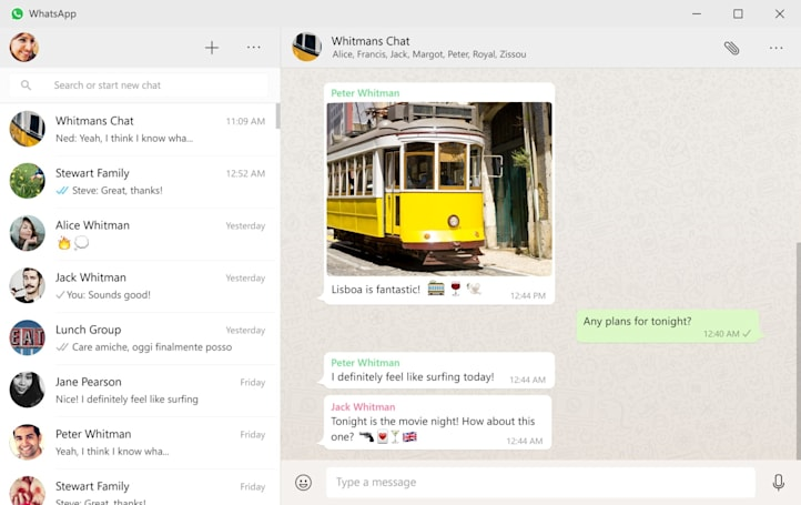 WhatsApp has a new desktop app for Windows and OS X