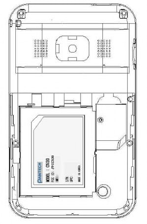 Pantech C530 pops up in FCC, likely AT&T bound