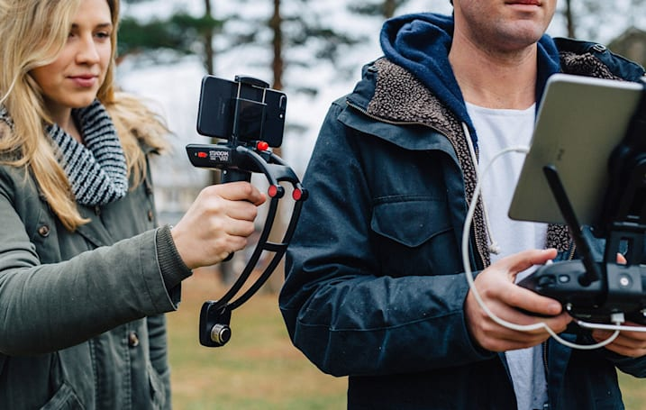 Steadicam comes to smartphones with the gyro-stabilized Volt