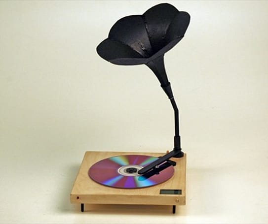 The Digital Gramophone: original design or DIY shortcut?