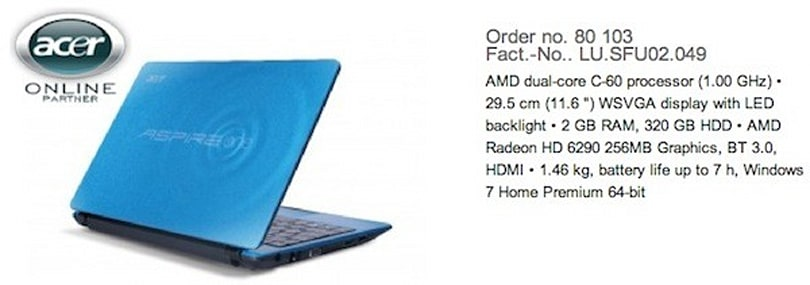 Acer Aspire One 522 and 722 hit the gym with faster processors and beefier graphics