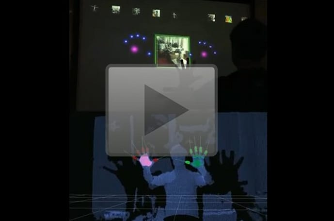 Kinect Hacks: MIT gets Minority Report UI to work, look at those fingers go!