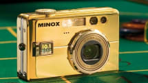 Minox DC1011, now gold-plated for the casino set