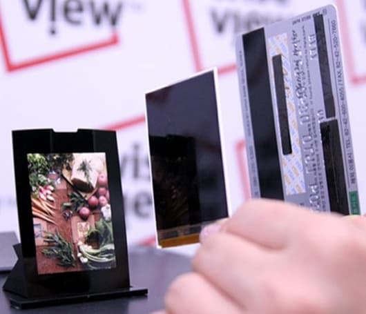 """Samsung grabs title of """"world's slimmest"""" LCD for cellphones"""