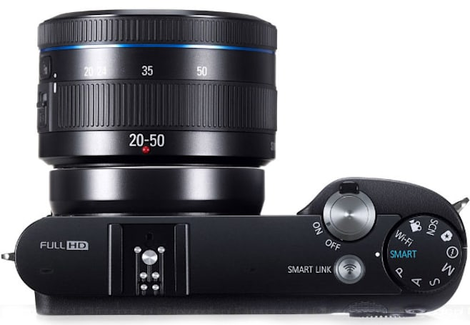 Samsung NX1100 ILC now shipping for $600 with bundled Lightroom 4