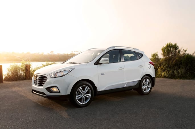 Hyundai's next fuel cell SUVs have a reported range of 348 miles