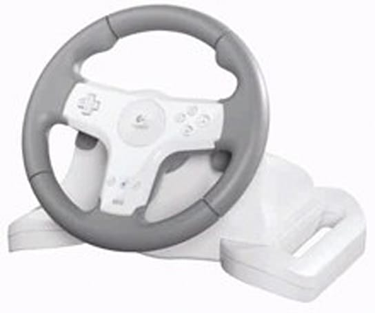 Logitech unveils Speed Force Wireless racing wheel for Wii
