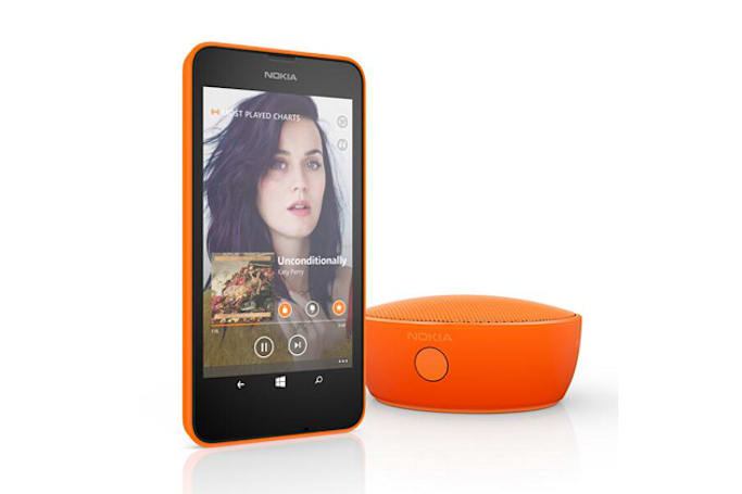 Nokia shows off 'MD-12' Bluetooth speaker to match its new smartphones