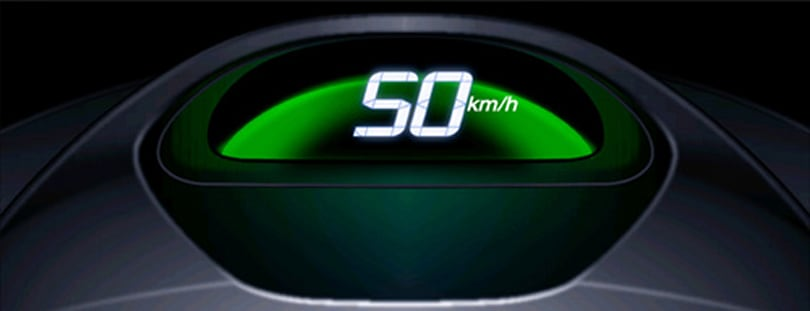 Honda's color-changing speedometer to drive out bad driving habits