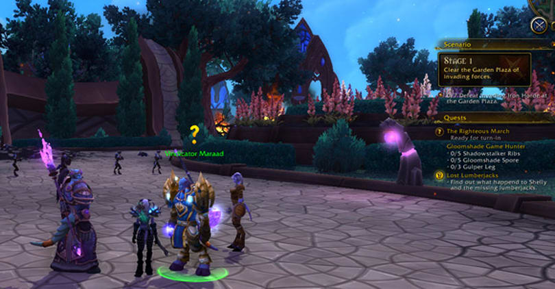 Warlords of Draenor: Solo scenario and quest improvements