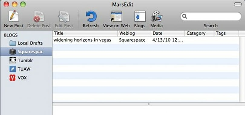 MarsEdit 3 adds rich text editing, enhanced media browsing