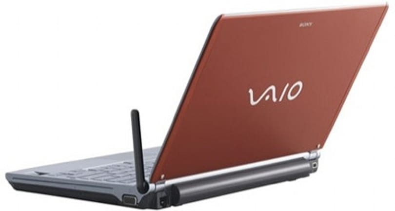 Sony VAIO VGN-TXN10 brings the EV-DO Rev A