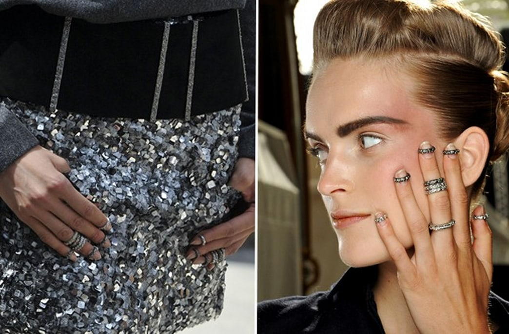 Chanel One-Ups the Knuckle Ring Trend