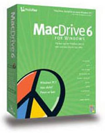 MacDrive 6 - read/write Mac-formatted drives and discs on Windows