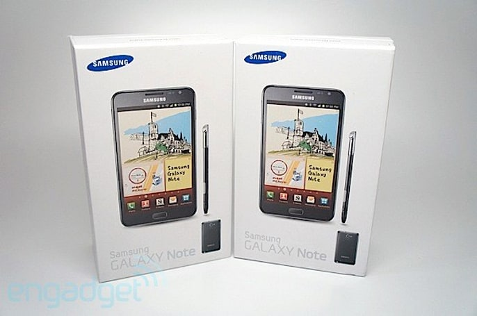 Engadget Giveaway: win one of two Samsung Galaxy Notes, courtesy of 1SaleADay!