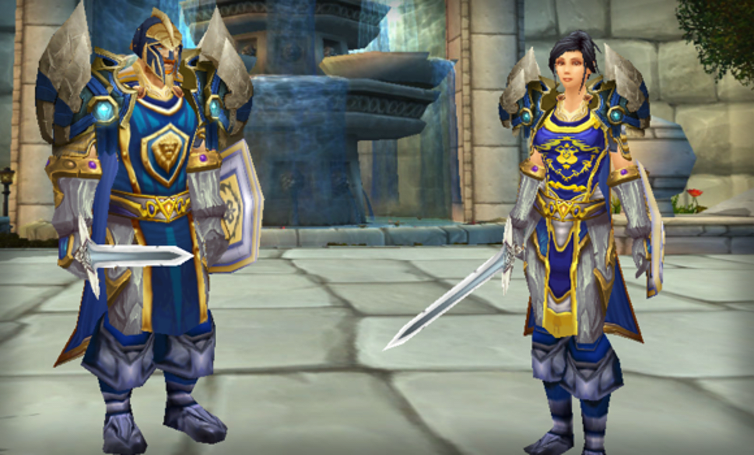 Remixing the Stormwind Guard for transmogrification