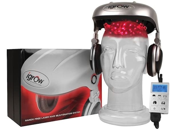 iGrow promises to regrow hair with lasers, accessorize any wardrobe