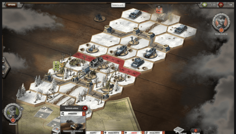 Panzer General Online says to play its open beta, maggot