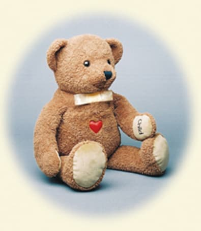 CPR Teddy cuddles up nicely, teaches resuscitation
