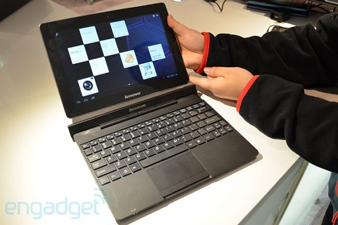 Lenovo's IdeaTab S2 10-inch does tablet transformation, packs a 1.5GHz dual-core Snapdragon (update: hands-on)