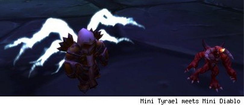 How to claim your Mini Tyrael
