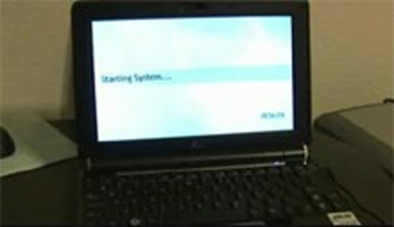 Video: SSD-infused Eee PC 1000 boots in 30 seconds
